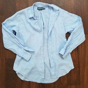 Ralph Lauren Classic Fit LS Shirt Large
